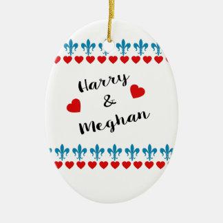 Ornement Ovale En Céramique Quand Harry a rencontré Meghan