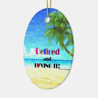 Ornement Ovale En Céramique Retiré et l'aimant… la bonne vie