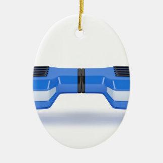 Ornement Ovale En Céramique Scooter de compas gyroscopique