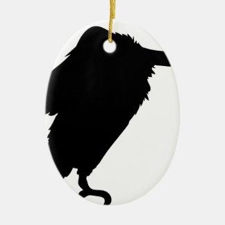 Ornement Ovale En Céramique Séance de vautour