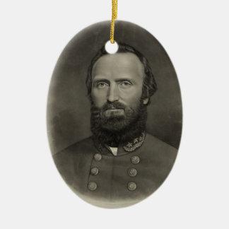 Ornement Ovale En Céramique Stonewall Jackson