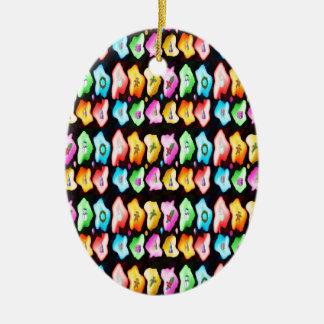 Ornement Ovale En Céramique Style : L'ornement ovale apportent beaucoup plus