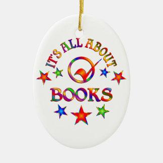 Ornement Ovale En Céramique Tout au sujet des livres
