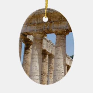 Ornement Ovale En Céramique travaux massifs de Grec