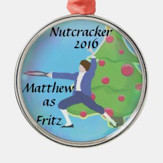 Ornement personnalisé de casse-noix - Fritz