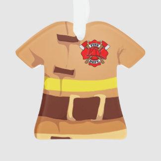 Ornement personnalisé de sapeur-pompier de pompier