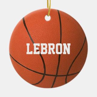 Ornement personnalisé par amant de basket-ball