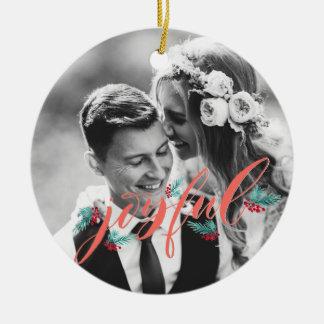 Ornement personnalisé pour des nouveaux mariés