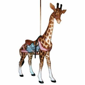 Ornement Photo Sculpture Girafe d'écho de gorge