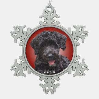 Ornement portugais de vacances de chien d'eau