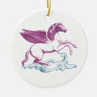Ornement pourpre de Pegasus