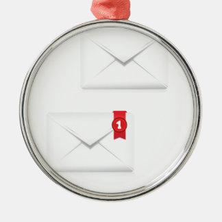 Ornement Rond Argenté 91Mailbox Icon_rasterized vigilant