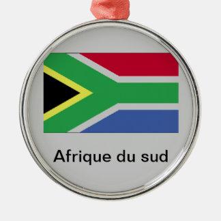 Ornement Rond Argenté Afrique du sud