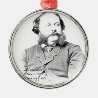 Ornement Rond Argenté Alfred Jaell