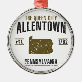 Ornement Rond Argenté Allentown