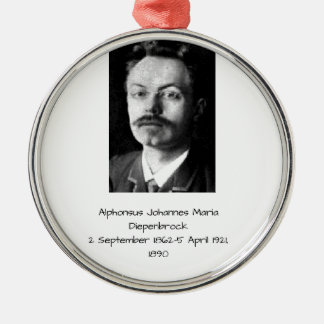 Ornement Rond Argenté Alphons Johannes Maria Diepenbrock 1890