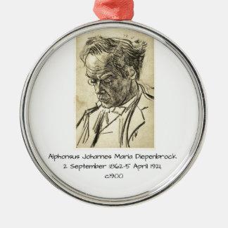Ornement Rond Argenté Alphons Johannes Maria Diepenbrock 1900