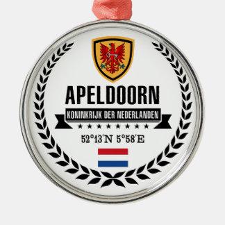 Ornement Rond Argenté Apeldoorn
