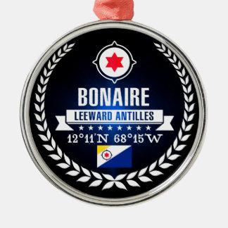 Ornement Rond Argenté Bonaire