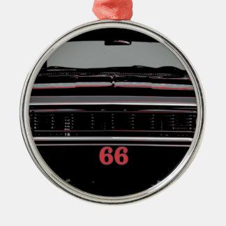 Ornement Rond Argenté Chevelle 1966