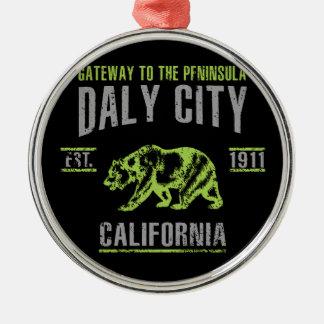 Ornement Rond Argenté Daly City