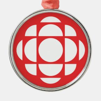 Ornement Rond Argenté Gemme de CBC/Radio-Canada