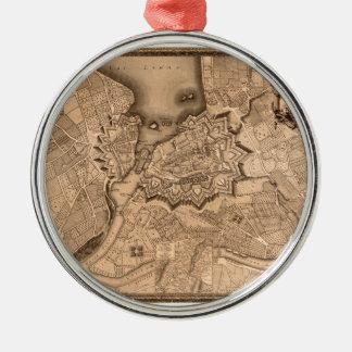 Ornement Rond Argenté Genève Suisse 1773