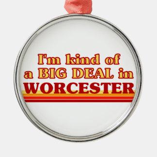 Ornement Rond Argenté Genre d'I´m d'affaire à Worcester
