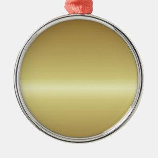 Ornement Rond Argenté gold