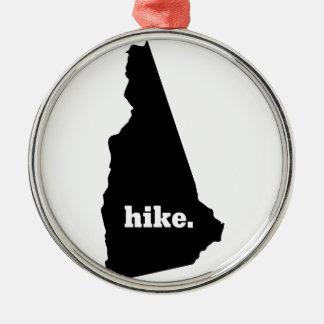 Ornement Rond Argenté Hausse New Hampshire