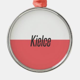Ornement Rond Argenté Kielce