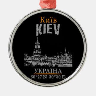 Ornement Rond Argenté Kiev