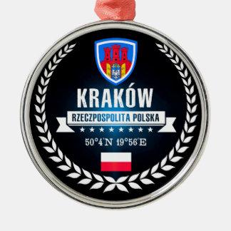 Ornement Rond Argenté Kraków