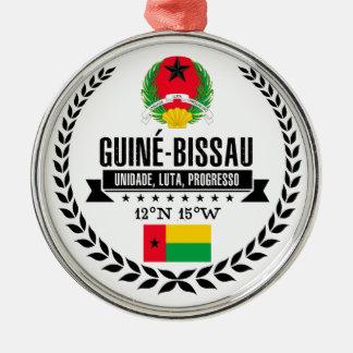Ornement Rond Argenté La Guinée-Bissau