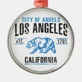 Ornement Rond Argenté Los Angeles