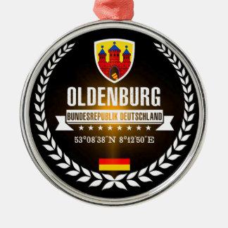 Ornement Rond Argenté Oldenbourg