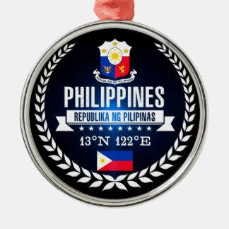 Ornement Rond Argenté Philippines