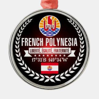 Ornement Rond Argenté Polynésie française