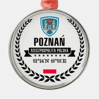 Ornement Rond Argenté Poznań