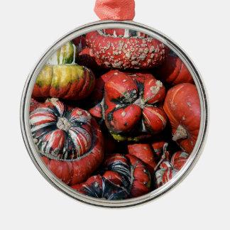 Ornement Rond Argenté pumpkin-2738637