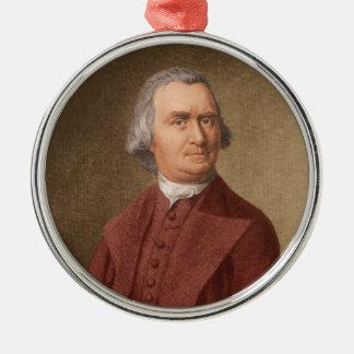 Ornement Rond Argenté Samuel Adams