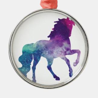 Ornement Rond Argenté unicorn-2007266_1920