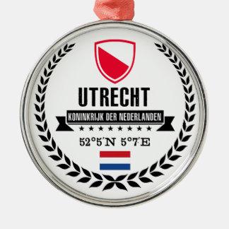 Ornement Rond Argenté Utrecht