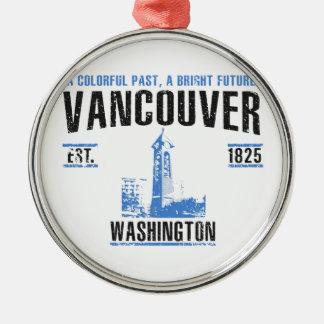 Ornement Rond Argenté Vancouver
