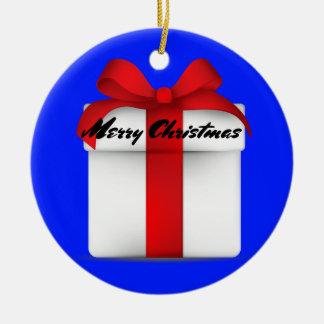 """Ornement rond de """"Joyeux Noël"""""""