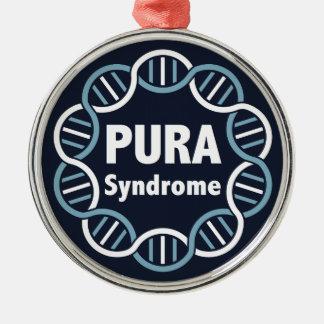 Ornement rond de logo de PURA