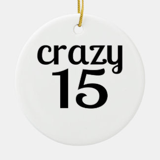 Ornement Rond En Céramique 15 conceptions folles d'anniversaire
