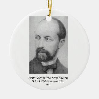 Ornement Rond En Céramique Albert Charles Paul Marie Roussel 1913