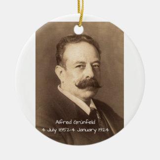 Ornement Rond En Céramique Alfred Grunfeld