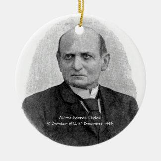 Ornement Rond En Céramique Alfred Heinrich Ehrlich